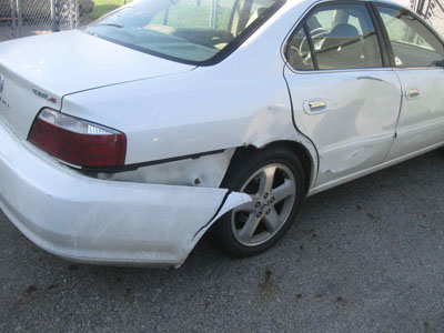 Acura TL Before Repair
