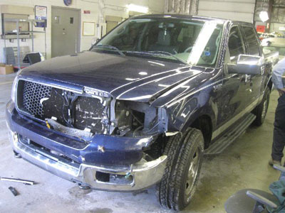Ford F-150 Before Repair